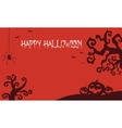 Halloween backgrounds pumpkins and dry tree vector image vector image