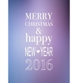 Happy New year 2016 design vector image