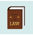 law concept design vector image vector image