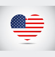 modern map united states usa independence day vector image