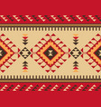 tribal ethnic seamless pattern geometric design vector image vector image