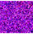 abstract gradient tiled triangle pattern vector image vector image