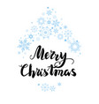 christmas greetings card vector image vector image
