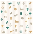 Environmental seamless pattern vector image