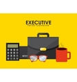 executive equipment vector image vector image