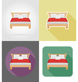 furniture flat icons 28 vector image vector image