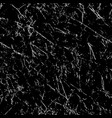 grunge seamless repeating pattern white on black vector image vector image