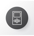 media device icon symbol premium quality isolated vector image vector image