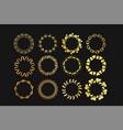 modern geometric handdrawn ink frames set vector image vector image