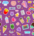 patch stickers sticky patching badge or vector image vector image