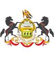 Pennsylvania coat-of-arms vector image vector image