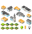 Suburban community vector | Price: 3 Credits (USD $3)