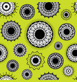 indian decorative design pattern vector image