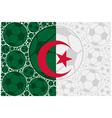 Algeria soccer balls vector image vector image