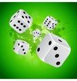 back casino vector image vector image