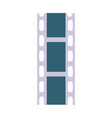 celluloid film strip icon vector image vector image