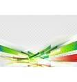 Gorizontal pink flow background vector image vector image
