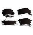 Grunge brushes vector image