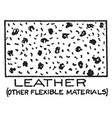 mechanical drawing cross hatching leathe vector image vector image