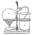napiers coffee apparatus vintage vector image vector image