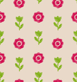 seamless floral texture vintage pattern vector image vector image
