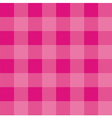 Seamless pink background - checkered pattern vector image vector image