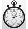 Stopwatch app icon vector image