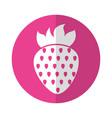 sweet strawberry fruit vector image