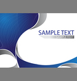 Abstract Brochure Template Size A4 vector image vector image