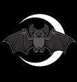 bat mascot vector image vector image