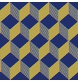 Cubes Seamless Pattern Background vector image vector image