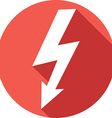 Lighting Bolt Icon vector image vector image