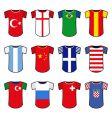 national soccer uniform vector image
