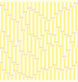 seamless gradient nice baby sticks pattern vector image
