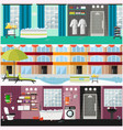 set of spa interior concept posters vector image vector image