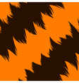 Tiger stripe skin vector image