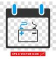 Accumulator Calendar Day Eps Icon vector image vector image