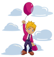 Businessman Balloon vector image vector image