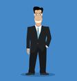 Businessman color vector image vector image