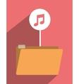 file archive icon symbol design vector image vector image