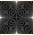 monochrome geometric pattern with thin slanted vector image vector image