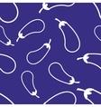 Pattern Circuit Eggplant vector image vector image