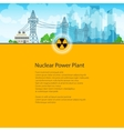 Poster High Voltage Power Lines vector image