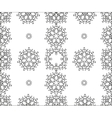 Seamless ornament Ethnic pattern vector image vector image