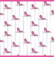 shoes fashion pattern beautiful fashionable shoes vector image