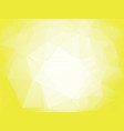 soft yellow geometric background vector image vector image
