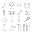 cosmetic icon vector image vector image