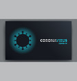 covid19-19 pandemic abstract background vector image vector image
