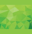 green geometric wallpaper background vector image vector image