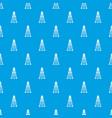 oil derrick pattern seamless blue vector image vector image